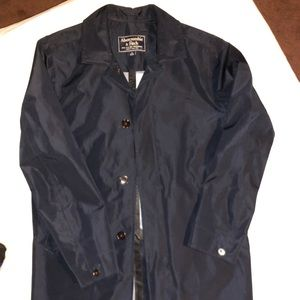 Men's size small A&F trench coat